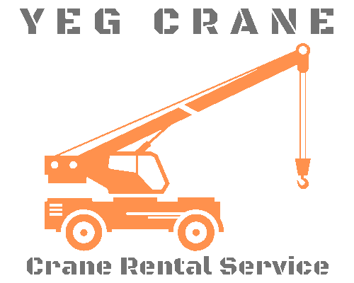 YEG crane service Logo
